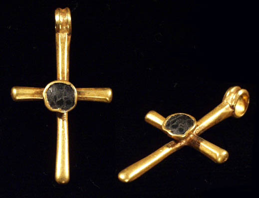 byzantine gold  cross